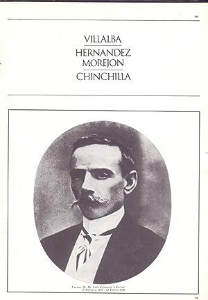 VILLALBA - HERMAMDEZ MOREJON - CHINCHILLA: Luis S. Granjel