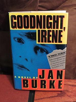 """Goodnight Irene """" Signed """": Burke, Jan"""
