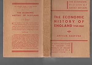 The Economic History of England 1760-1860: Arthur Redford