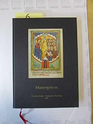 Masterpieces (Dr. Jörn Günther, Antiquariat, Hamburg): Hanke, Marion, Karen Michels Beatrix Zumbült...