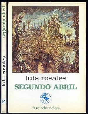 Imagen del vendedor de Segundo Abril. Poemas. a la venta por Hesperia Libros