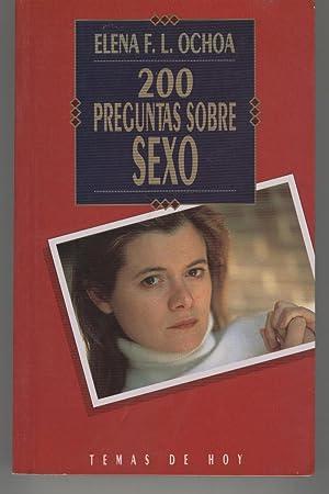 200 PREGUNTAS SOBRE SEXO. Biblioteca de la: Ochoa,Elena F.L.-