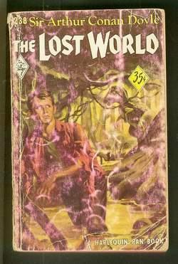 The Lost World (book #238 in the Vinatage Harlequin Paperback series) A Professor Challenger Preh...