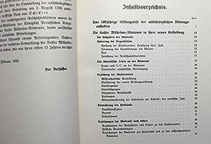 Die Kaiser Wilhelms-Akademie für das militärärztliche Bildungswesen. Von 1895 bis 1910 : ...