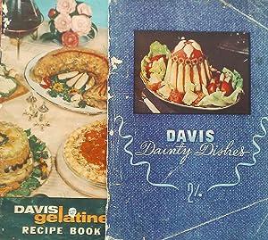 Davis Dainty Dishes. Include Basic Gelatine Cookery.: Gelatine, Davis.