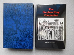 THE STEPHEN KING COMPANION (Pristine Signed Limited: Beahm, George (Editor)