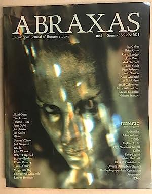 Abraxas. An International Journal of Esoteric Studies.: ANSELL, Robert (
