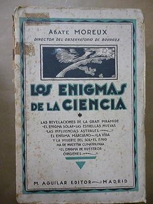 Los Enigmas de la Ciencia. Las revelaciones: Abate Moreux.