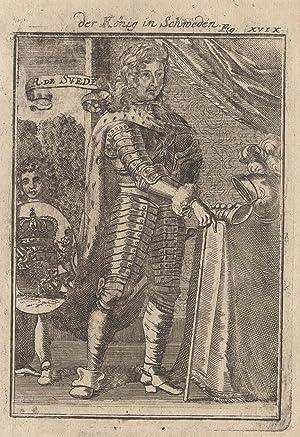 Stockholm 24. 11. 1655 - 05. 04. 1697 Stockholm). König von Schweden (1660 -1697). Er stammt aus ...