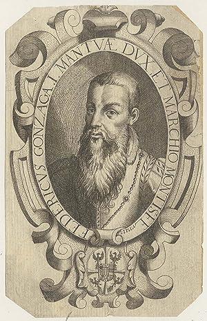 Frederico II. Gonzaga (Mantua 17. 05. 1500 - 28. 06. 1540 Marmirolo). Ital. Markgraf, ab 1530 ...