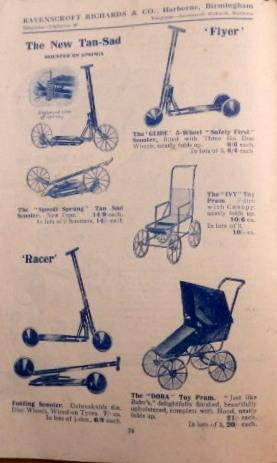 Cycle, Motor Cycle and Car Accessories & Workshop Tools Catalogue 1926: Ravenscroft Richards.