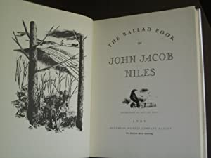 The Ballad Book of John Jacob Niles: Niles, John Jacob