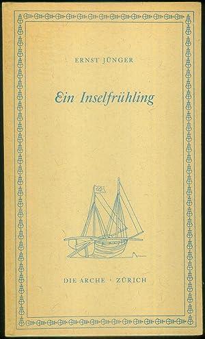 """Ein Inselfrühling. Ein Tagebuch aus Rhodos. Mit den sizilianischen Tagebuchblättern """"Aus der ..."""