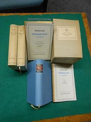 Keller, Gottfried: Gesammelte Werke in vier Bänden.: Keller, Gottfried und