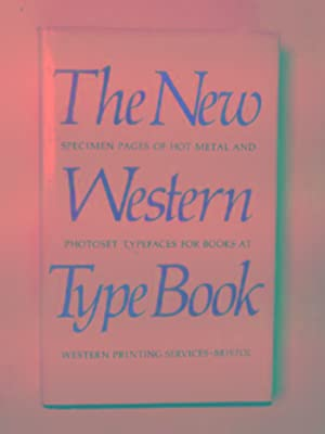 The new Western type book: analysed page