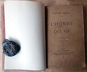 L'Homme qui rit. Quatre volumes; complet. Année de l'originale ; les couvertures conservées...