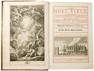The Holy Bible, containing the Old Testament: BIBLE IN ENGLISH