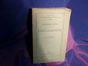 Introduction a la philosophie