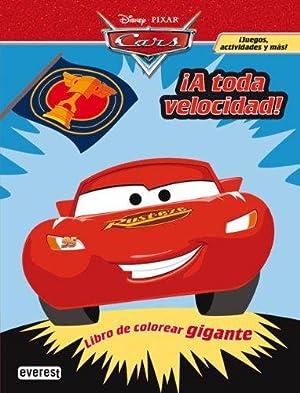 Imagen del vendedor de Cars. ¡A toda velocidad! Libro de colorear gigante a la venta por LIBRERÍA SOLÓN