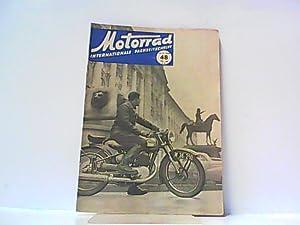 Motorrad. 5. Jahrgang, Heft 48. / 214, 29. 11. 1952. Internationale Fachzeitschrift. Mit Themen u.a...