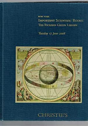 Important Scientific Books: The Richard Green Library - Christie's Catalogue