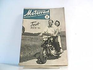 Motorrad. 8. Jahrgang, Heft 4 / 326, 22.01.1955. Internationale Fachzeitschrift. Mit Themen u.a.: ...
