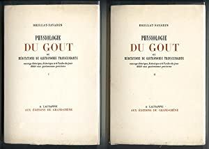 Physiologie du Gout by Brillat-Savarin (2 Vol)