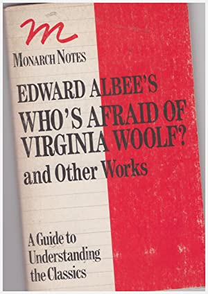 Who's Afraid of Virginia Woolf? And Other: Albee's Edward