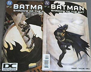 Batman: Shadow of the Bat 51 ; Batman: Shadow of the Bat 52