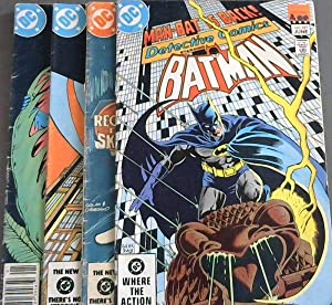Detective Comics Vol 47, No 527 ; Detective Comics Vol 47 No 528 ; Detective Comics Vol 47 No 529...