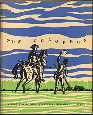 The Colophon. A Book Collectors' Quarterly. New Graphic Series. Number Two. The Quarterly for Boo...