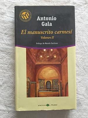 El manuscrito carmesí (II): Antonio Gala