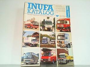 INUFA KATALOG 1992 - Internationaler Nutzfahrzeuge-Katalog - Alles über Nutzfahrzeuge, dank 70-...