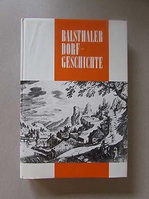 Balsthal - 3000 Jahre Dorfgeschichten (Jubiläumsschrift zur Tausendjahrfeier 1968): Sigrist, Hans: