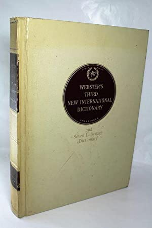 Seller image for Webster's Third New International Dictionary of the English Language Unabridg. for sale by Hideaway Books