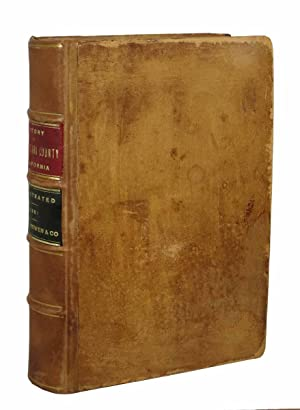 HISTORY Of SANTA CLARA COUNTY, CALIFORNIA; Including: Munro-Fraser, J. P.