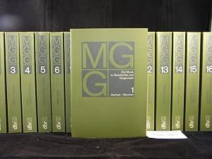 (Hrsg.) Die Musik in Geschichte und Gegenwart (MGG.). Allgemeine Enzyklopädie der Musik.: BLUME, ...