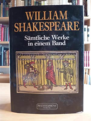 WILLIAM SHAKESPEARE: Samtliche in einen