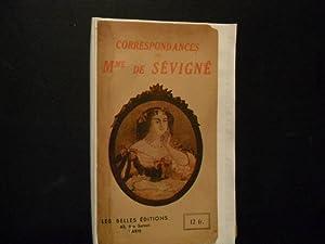 CORRESPONDANCE: Mme DE SÉVIGNÉ
