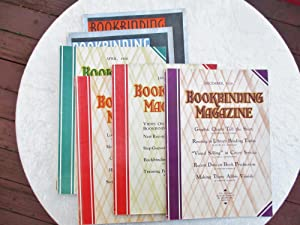 1929-1931 BOOKBINDING MAGAZINE, 6 ISSUES, Vintage Book Binders / Bindry Trade Journal