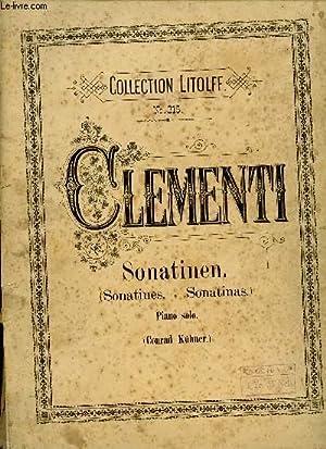 SONATINEN FUR PIANOFORTE - OP36 - N°315: CLEMENTI M.