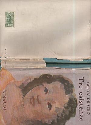 TRE ESISTENZE (1940): Stein Gertrude