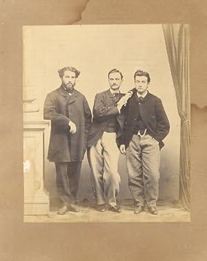 Fotografia originale su carta all'albumina che raffigura: FOTOGRAFIA].