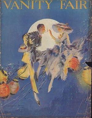 Vanity Fair Magazine, June, 1916: C. P. West, P. G. Wodehouse, Victor Georg, Leander Richardson, ...