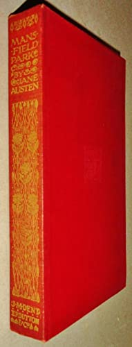 Mansfield Park Everyman's Library [Printed by Richard: Austen, Jane and