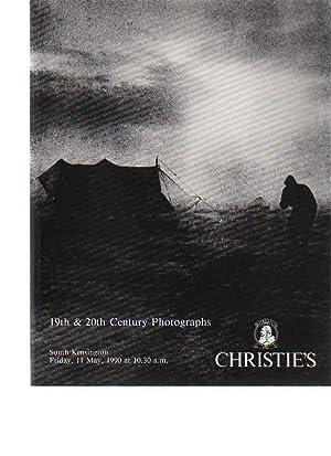 Christies 1990 19th & 20th Century Photographs: Christies