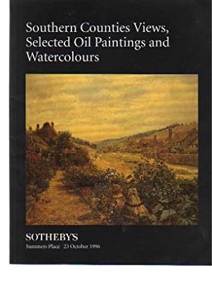 Sothebys 1996 Southern Counties Views, selected Paintings: Sothebys