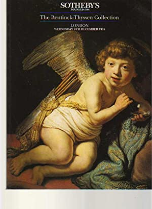 Sothebys 1995 Bentinck-Thyssen Collection (Old Master Paintings)