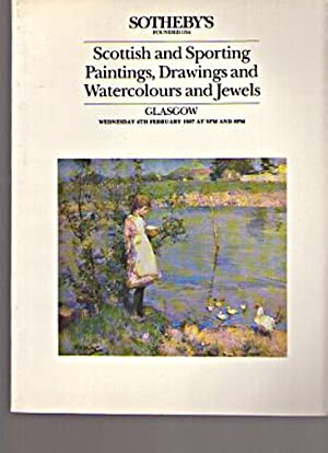 Sothebys 1987 Scottish & Sporting Paintings etc: Sothebys