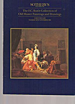 Sothebys 1993 Butot Collection Old Master Paintings, Drawings